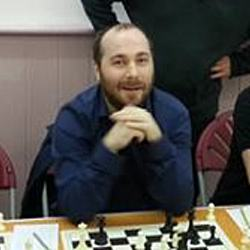 Written by Gareth Stevens seen here after his victory against Peter Wells