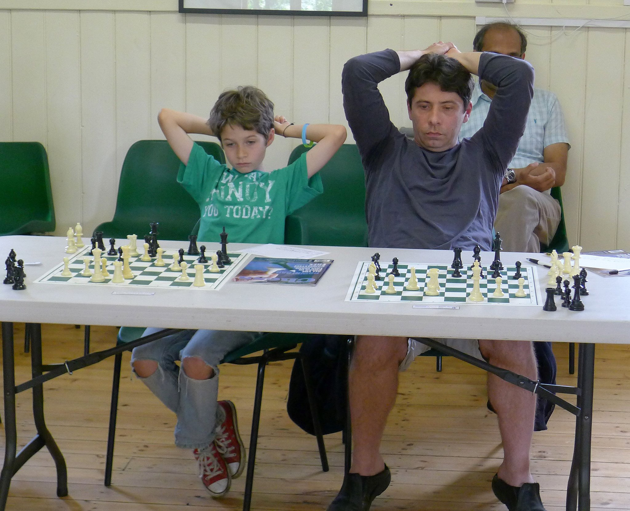 Cumnor player draws chess grandmaster!