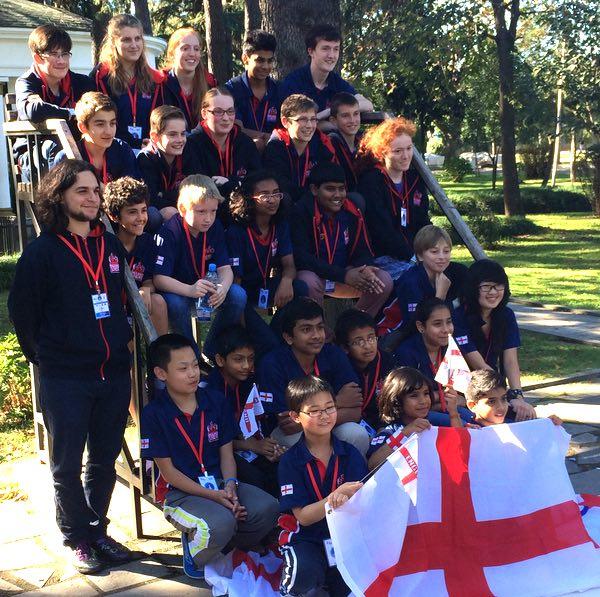 England team in Batumi