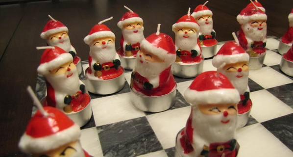 Fancy a Christmas Chess blitz?