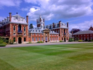 Wellington College (built as a national monument to the Duke of Wellington) had the honor of hosting the match.