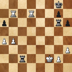 Liam's endgame - Two Rooks each, should be a draw?