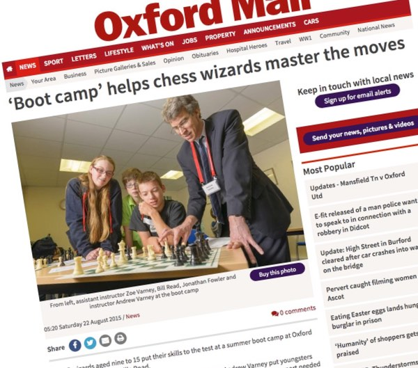 Oxford Mail report