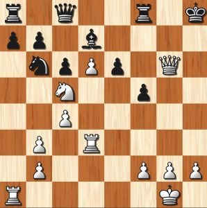 Move 24 Rd3! Black now can't stop 25 Rh3#